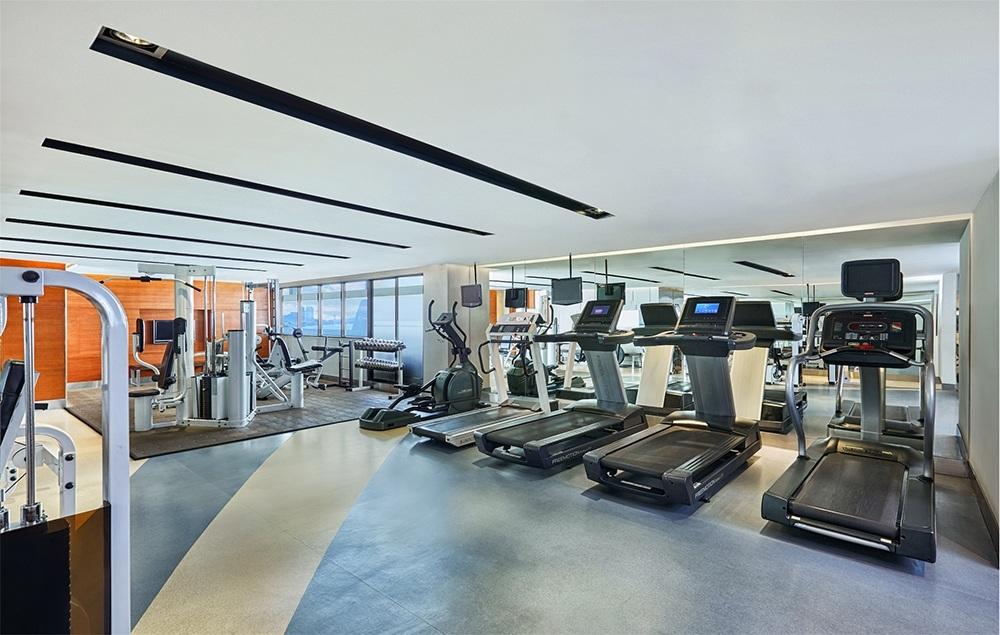 Fitness & Sauna (06.00 - 22.00 hrs) L Floor